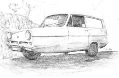 Reliant Robin sketch